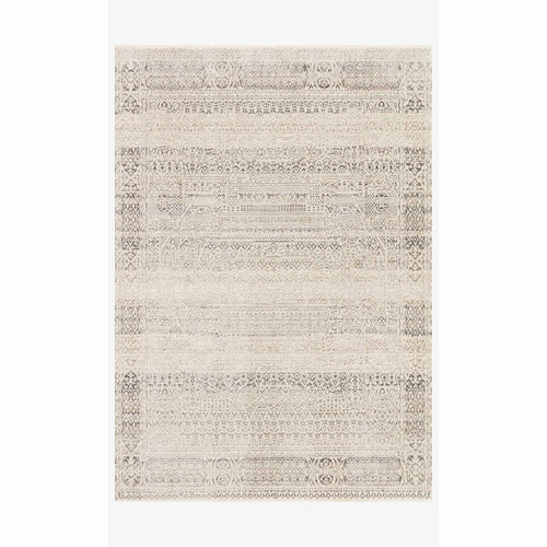 "Loloi Homage HOM-05 Transitional Power Loomed Area Rug-Rugs-Loloi-Ivory-1'-6"" x 1'-6"" Sample-Heaven's Gate Home, LLC"