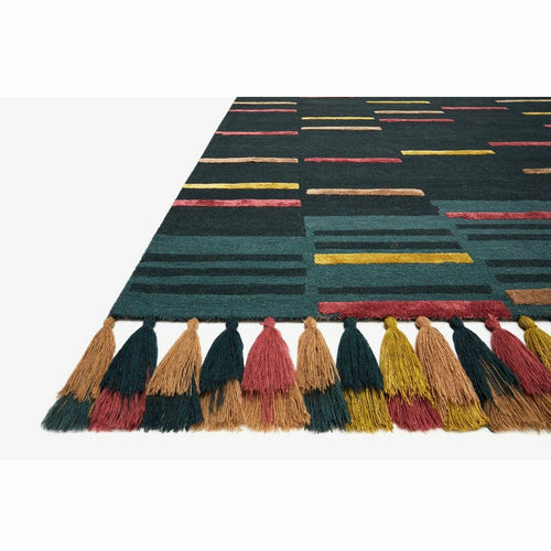 Justina Blakeney x Loloi Jamila JAA-03 Contemporary Hooked Area Rug-Rugs-Justina Blakeney x Loloi-Heaven's Gate Home, LLC