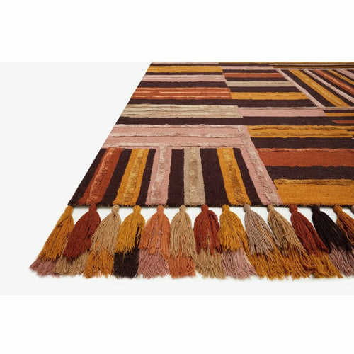 Justina Blakeney x Loloi Jamila JAA-04 Contemporary Hooked Area Rug-Rugs-Justina Blakeney x Loloi-Heaven's Gate Home, LLC