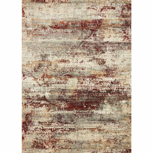 "Loloi Jasmine JAS-01 Contemporary Power Loomed Area Rug-Rugs-Loloi-Rust-18"" x 18"" Sample-Heaven's Gate Home, LLC"