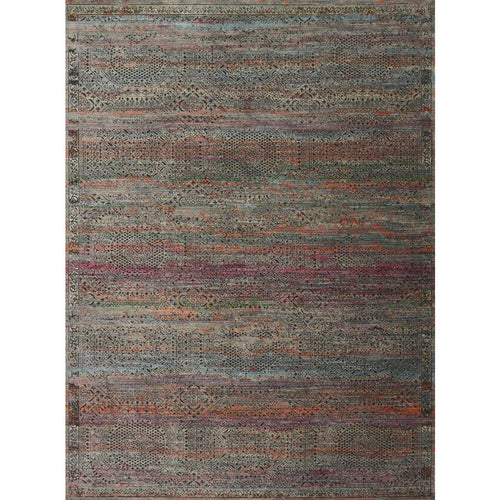 "Loloi Javari JV-02 Contemporary Power Loomed Area Rug-Rugs-Loloi-Charcoal-1'-6"" x 1'-6"" Sample-Heaven's Gate Home, LLC"