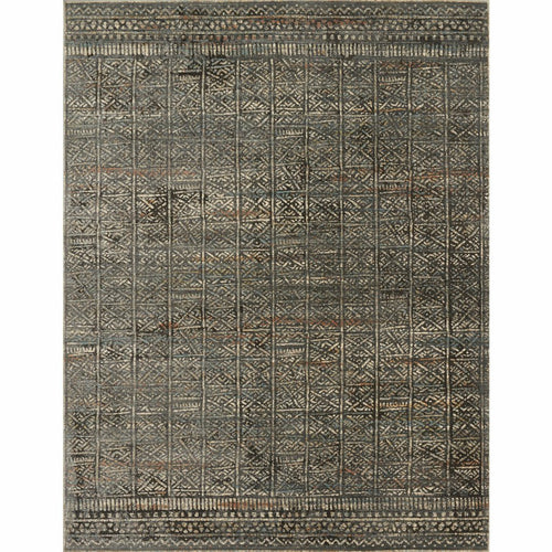 "Loloi Javari JV-06 Contemporary Power Loomed Area Rug-Rugs-Loloi-Charcoal-1'-6"" x 1'-6"" Sample-Heaven's Gate Home, LLC"