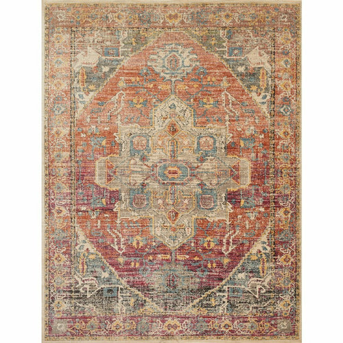"Loloi Javari JV-08 Contemporary Power Loomed Area Rug-Rugs-Loloi-Rust-2'-6"" x 4'-0""-Heaven's Gate Home, LLC"