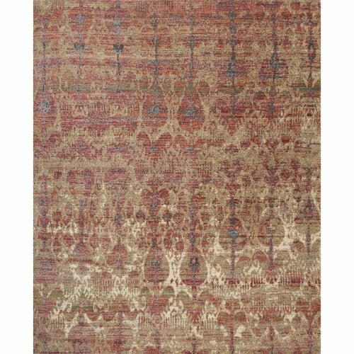 "Loloi Javari JV-10 Contemporary Power Loomed Area Rug-Rugs-Loloi-Burgundy-2'-6"" x 4'-0""-Heaven's Gate Home, LLC"
