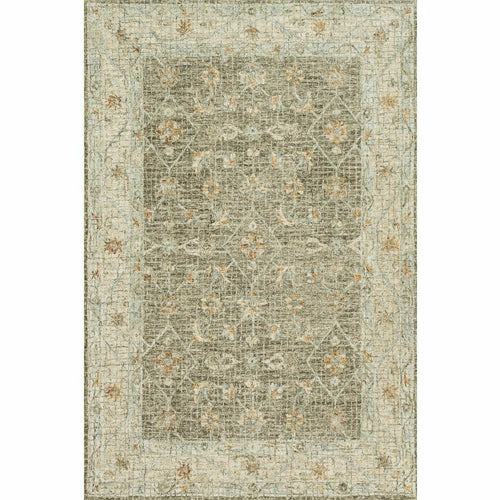 "Loloi Julian JI-02 Transitional Hooked Area Rug-Rugs-Loloi-Taupe-1'-6"" x 1'-6"" Sample-Heaven's Gate Home, LLC"