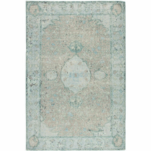 Jaipur Living Kai Alessia KAI02 Transitional Handmade Area Rug-Rugs-Jaipur Living-Aqua-5'X8'-Heaven's Gate Home, LLC