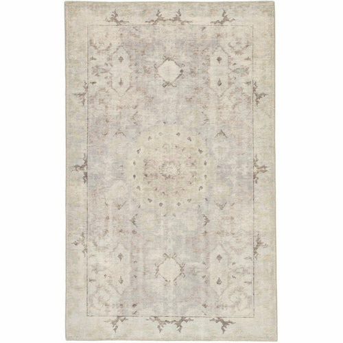 Jaipur Living Kai Modify KAI04 Vintage Handmade Area Rug-Rugs-Jaipur Living-Gray-5'X8'-Heaven's Gate Home, LLC