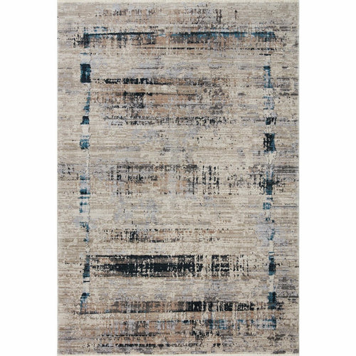 "Loloi Leigh LEI-01 Transitional Power Loomed Area Rug-Rugs-Loloi-Charcoal-18"" x 18"" Sample-Heaven's Gate Home, LLC"