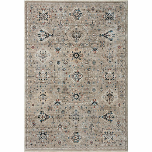 "Loloi Leigh LEI-02 Transitional Power Loomed Area Rug-Rugs-Loloi-Brown-18"" x 18"" Sample-Heaven's Gate Home, LLC"