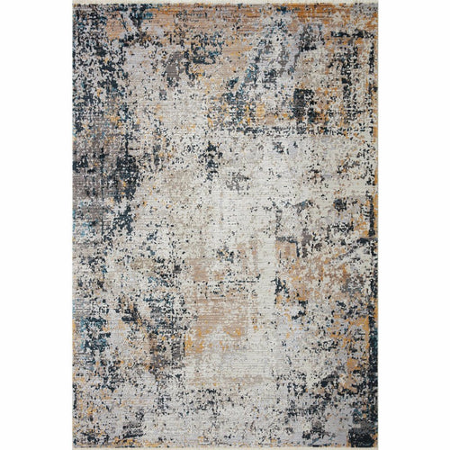 "Loloi Leigh LEI-04 Transitional Power Loomed Area Rug-Rugs-Loloi-Multi-18"" x 18"" Sample-Heaven's Gate Home, LLC"
