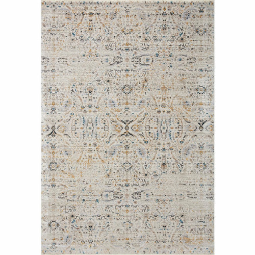"Loloi Leigh LEI-07 Transitional Power Loomed Area Rug-Rugs-Loloi-Ivory-18"" x 18"" Sample-Heaven's Gate Home, LLC"