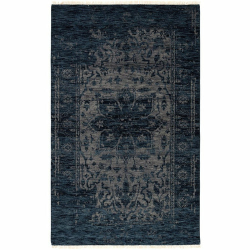 "Jaipur Living Liberty Abington LIB06 Transitional Handmade Area Rug-Rugs-Jaipur Living-Blue-5'6""X8'-Heaven's Gate Home, LLC"