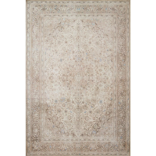"Loloi Loren LQ-03 Traditional Power Loomed Area Rug-Rugs-Loloi-Taupe-1'-6"" x 1'-6"" Sample-Heaven's Gate Home, LLC"