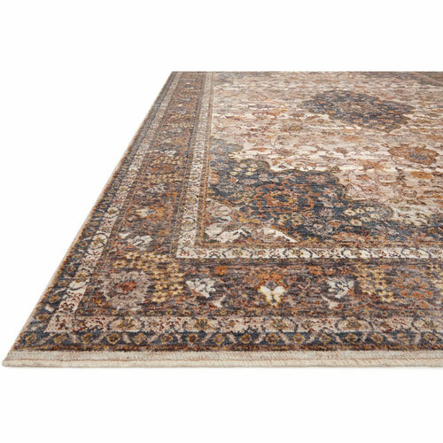 Loloi Lourdes LOU-01 Traditional Power Loomed Area Rug