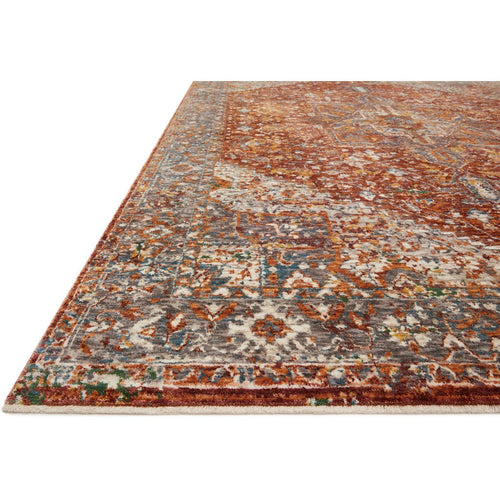 Loloi Lourdes LOU-02 Traditional Power Loomed Area Rug