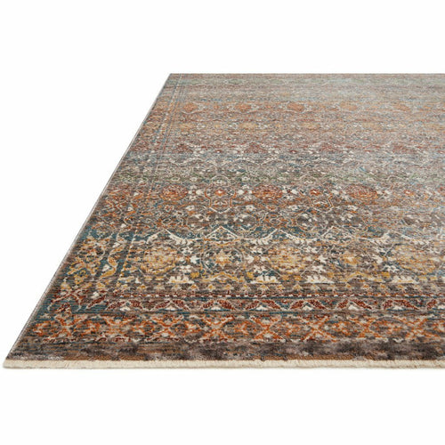 Loloi Lourdes LOU-03 Traditional Power Loomed Area Rug