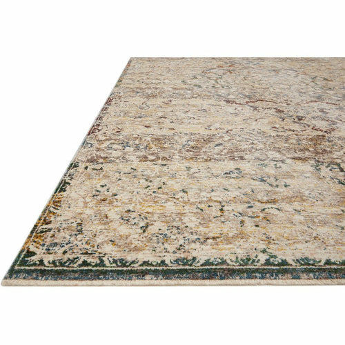 Loloi Lourdes LOU-06 Traditional Power Loomed Area Rug