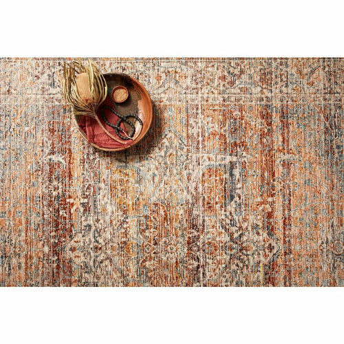 Loloi Lourdes LOU-07 Traditional Power Loomed Area Rug