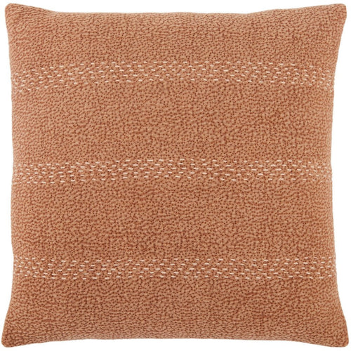"Jaipur Living Trenton Lexington Terracotta Handmade Pillow, Set/2-Pillows-Jaipur Living-Terracotta-20"" x 20"", Set/2-Down-Heaven's Gate Home, LLC"