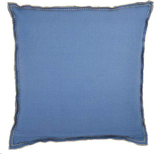 Jaipur Living Warrenton Lexington Blue Handmade Pillow