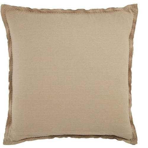 Jaipur Living Warrenton Lexington Taupe Handmade Pillow-Pillows-Jaipur Living-Heaven's Gate Home, LLC