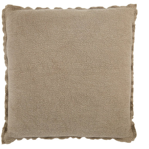 "Jaipur Living Warrenton Lexington Taupe Handmade Pillow-Pillows-Jaipur Living-Taupe-26"" x 26""-Down-Heaven's Gate Home, LLC"