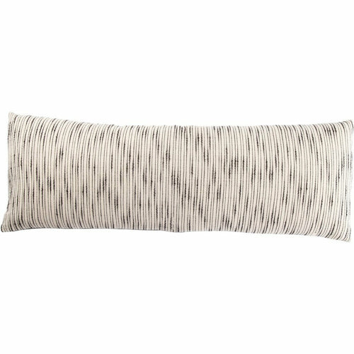 "Jaipur Living Linnean Mercado Handmade Pillow, Set/2-Pillows-Jaipur Living-White-14"" x 40"", Set/2-Down-Heaven's Gate Home, LLC"