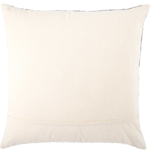 Jaipur Living Scandi Mercado Dark Gray Handmade Pillow