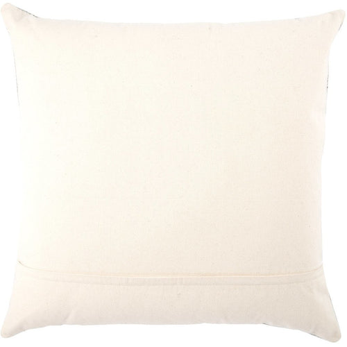Jaipur Living Scandi Mercado Light Gray Handmade Pillow