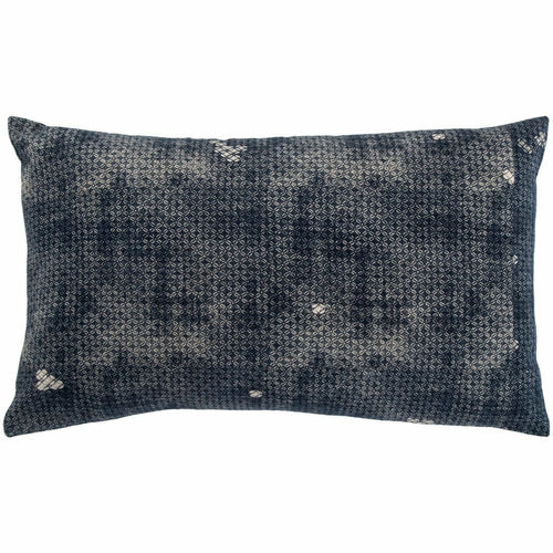 "Jaipur Living Amer Mercado Indigo Handmade Pillow, Set/2-Pillows-Jaipur Living-Navy-14"" x 24"", Set/2-Down-Heaven's Gate Home, LLC"