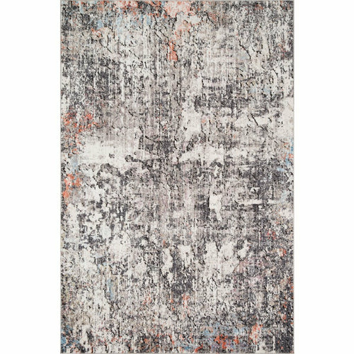 "Loloi Medusa MED-01 Contemporary Power Loomed Area Rug-Rugs-Loloi-Charcoal-1'-6"" x 1'-6"" Sample-Heaven's Gate Home, LLC"