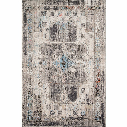 "Loloi Medusa MED-05 Contemporary Power Loomed Area Rug-Rugs-Loloi-Natural-1'-6"" x 1'-6"" Sample-Heaven's Gate Home, LLC"