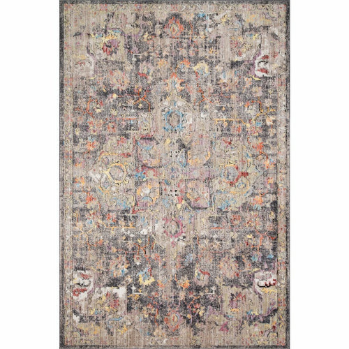 "Loloi Medusa MED-06 Contemporary Power Loomed Area Rug-Rugs-Loloi-Charcoal-1'-6"" x 1'-6"" Sample-Heaven's Gate Home, LLC"