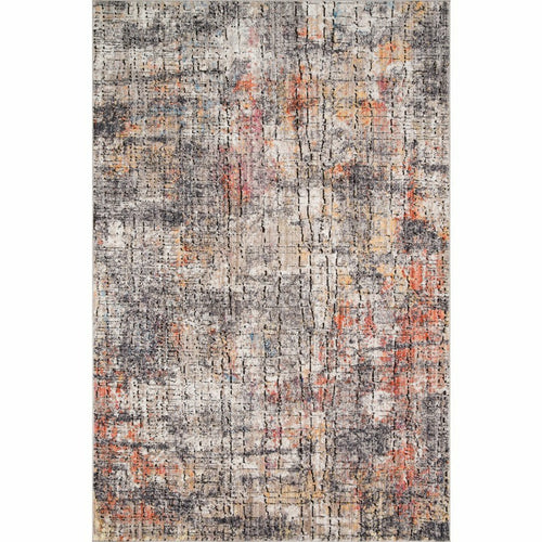 "Loloi Medusa MED-07 Contemporary Power Loomed Area Rug-Rugs-Loloi-Charcoal-1'-6"" x 1'-6"" Sample-Heaven's Gate Home, LLC"