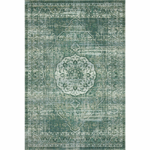 "Loloi Mika MIK-06 Indoor/Outdoor Power Loomed Area Rug-Rugs-Loloi-Green-1'-6"" x 1'-6"" Sample-Heaven's Gate Home, LLC"