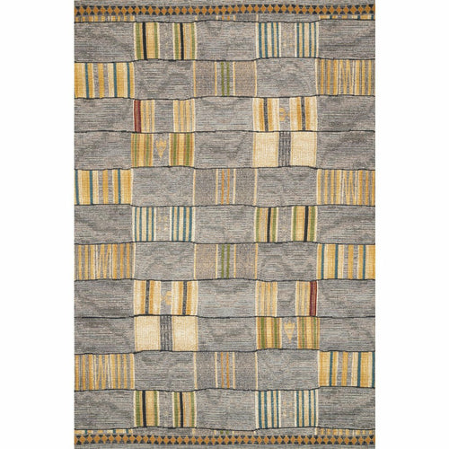 "Loloi Mika MIK-10 Indoor/Outdoor Power Loomed Area Rug-Rugs-Loloi-Multi-1'-6"" x 1'-6"" Sample-Heaven's Gate Home, LLC"