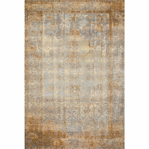 "Loloi Mika MIK-11 Indoor/Outdoor Power Loomed Area Rug-Rugs-Loloi-Brown-1'-6"" x 1'-6"" Sample-Heaven's Gate Home, LLC"