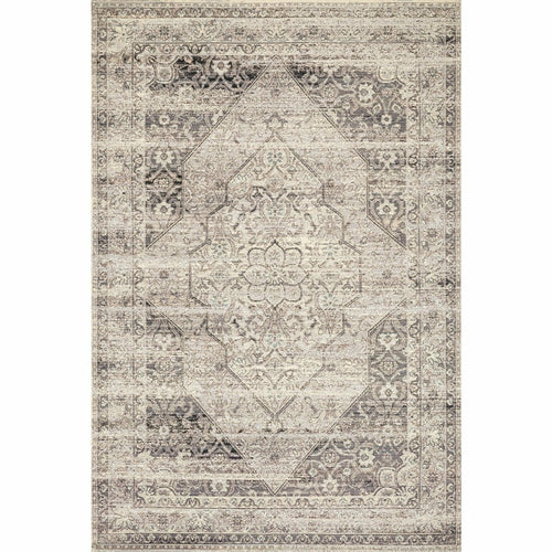 "Loloi Mika MIK-12 Indoor/Outdoor Power Loomed Area Rug-Rugs-Loloi-Tan-1'-6"" x 1'-6"" Sample-Heaven's Gate Home, LLC"