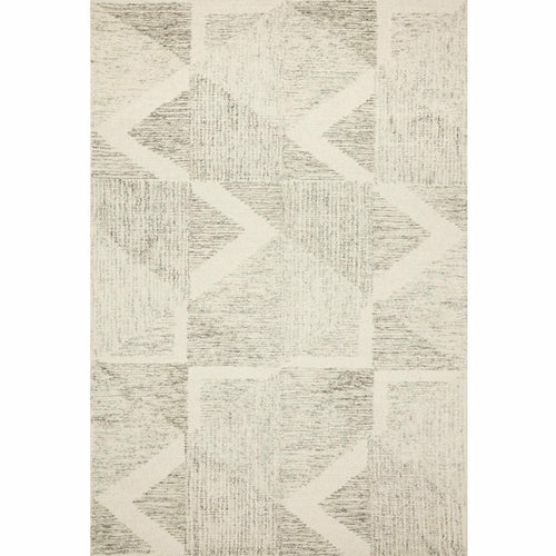 "Loloi Milo MLO-06 Contemporary Hand Tufted Area Rug-Rugs-Loloi-Gray-18"" x 18"" Sample-Heaven's Gate Home, LLC"