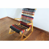 Masaya Amador Rocking Chair, San Geronimo Pattern-Rocking Chairs-Masaya & Co.-Heaven's Gate Home