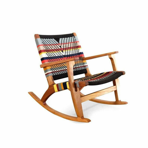Masaya Rocking Chair, San Geronimo & Royal Mahogany-Rocking Chairs-Masaya & Co.-Heaven's Gate Home