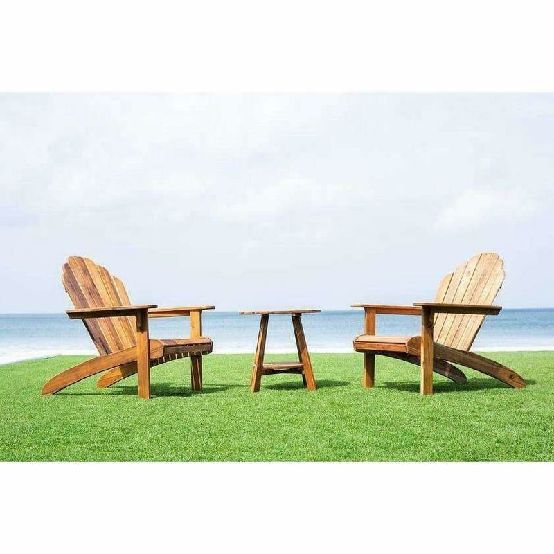 Masaya Adirondack Chair - Classic Teak, Indoor/Outdoor-Lounge Chairs-Masaya & Co.-Heaven's Gate Home