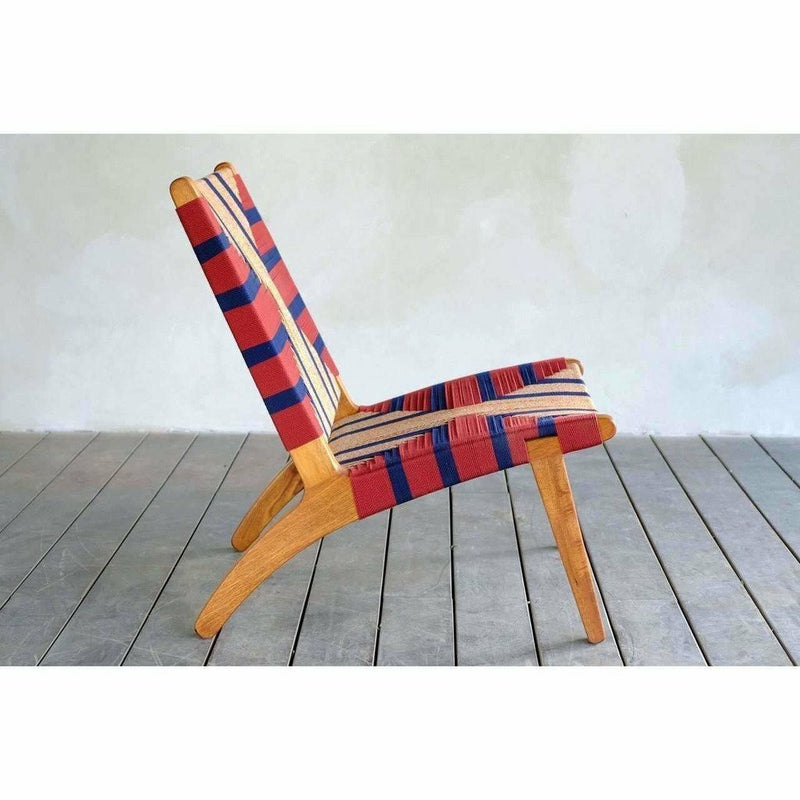 Masaya Lounge Chair, Momotombo Pattern-Lounge Chairs-Masaya & Co.-Heaven's Gate Home