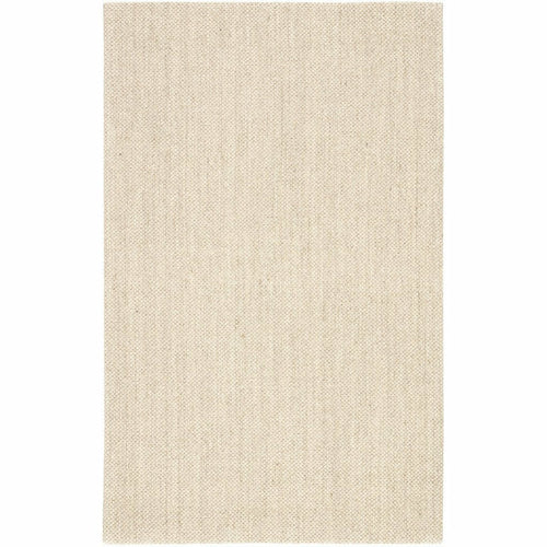 Jaipur Living Naturals Sanibel Naples NAS07 Coastal Machine Made Area Rug-Rugs-Jaipur Living-White-3'X5'-Heaven's Gate Home, LLC