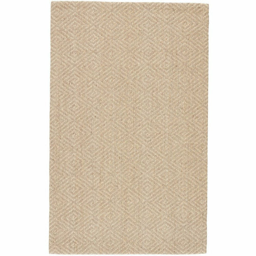 Jaipur Living Naturals Tobago Tampa NAT07 Contemporary Handmade Area Rug-Rugs-Jaipur Living-Gray-4'X6'-Heaven's Gate Home, LLC