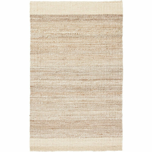 Jaipur Living Naturals Tobago Mallow NAT12 Bohemian Handmade Area Rug-Rugs-Jaipur Living-White-5'X8'-Heaven's Gate Home, LLC