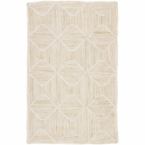 Jaipur Living Naturals Tobago Sisal Bow NAT41 Transitional Handmade Area Rug-Rugs-Jaipur Living-Ivory-5'X8'-Heaven's Gate Home, LLC
