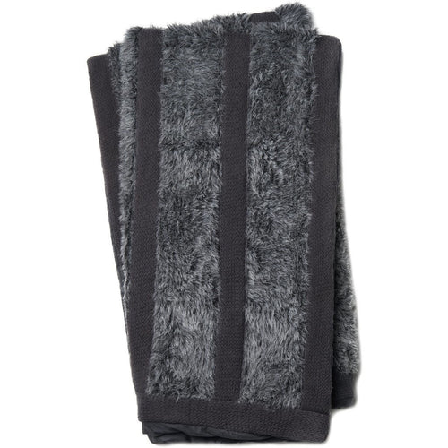 "Loloi Neva T0030 Throw-Throws-Loloi-Charcoal-50"" x 60"" Throw-Heaven's Gate Home, LLC"