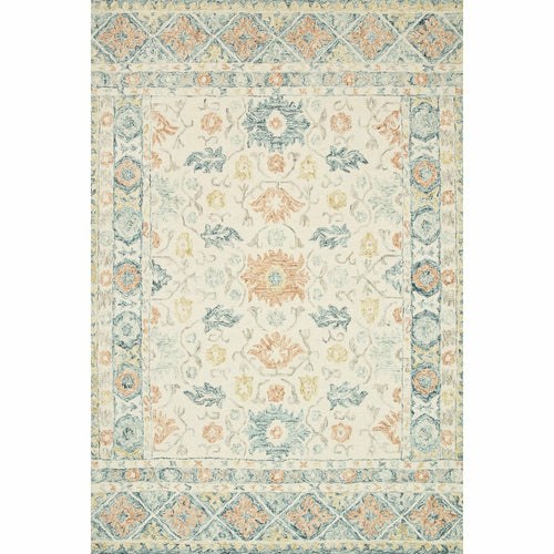 "Loloi Norabel NOR-01 Contemporary Hooked Area Rug-Rugs-Loloi-Multi-1'-6"" x 1'-6"" Sample-Heaven's Gate Home, LLC"