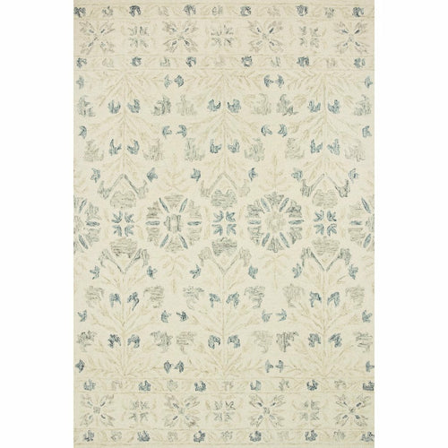 "Loloi Norabel NOR-02 Contemporary Hooked Area Rug-Rugs-Loloi-Gray-1'-6"" x 1'-6"" Sample-Heaven's Gate Home, LLC"